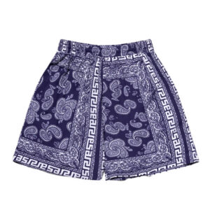ARIES Shorts Bandana Print Board - Navy