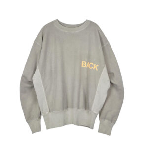 STAND ALONE Sudadera Back Logo - Grey