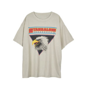 STAND ALONE Camiseta Eagle Vintage - Light Grey