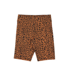 STAND ALONE Legging Leopard Knit Bermuda - Brown