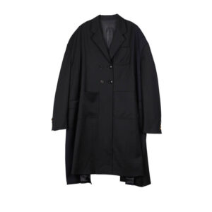 STAND ALONE Abrigo Oversized Two Tone - Black
