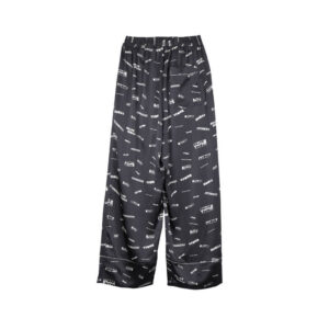 STAND ALONE Pantalones Pattern Pyjama - Dark Grey