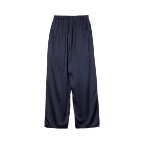 STAND ALONE Pantalones Silk Wide Leg - Navy