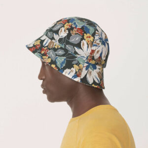 YMC Bucket Cotton Ripstop Hat – Floral Print