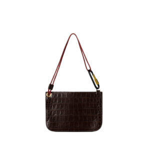 ARIES Bobby Leather Bag - Crocodile
