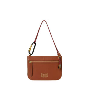 ARIES Bobby Leather Bag - Tan