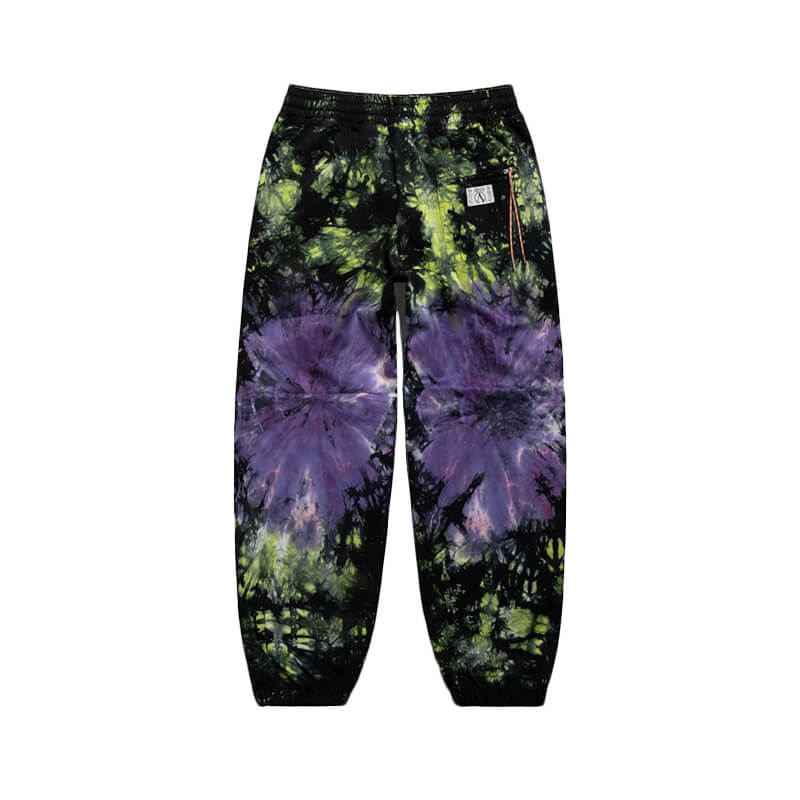 ARIES Cotton Tie-Dye Track Pants – Multi