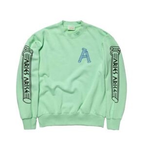 ARIES Sudadera Greek Column - Aqua