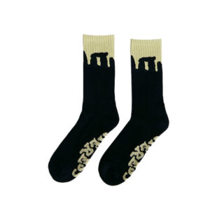 HERESY Calcetines Henge - Black / Yellow