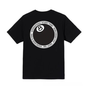 STUSSY Camiseta 8 Ball Dot - Black