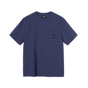 STUSSY Camiseta 8 Ball Pocket - Navy
