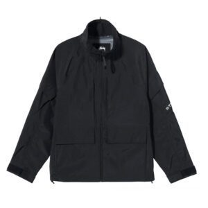 STUSSY Apex Shell Jacket – Black