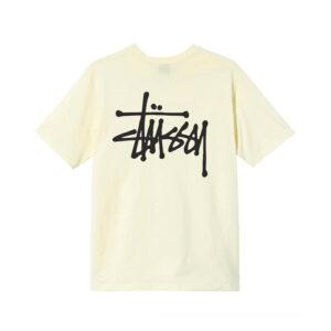 STÜSSY Camiseta Basic Stüssy - Pale Yellow