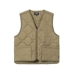 STUSSY Quilted Liner Vest – Coyote