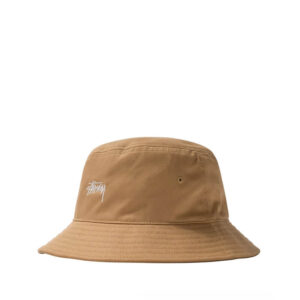 STUSSY Stock Bucket Hat – Khaki