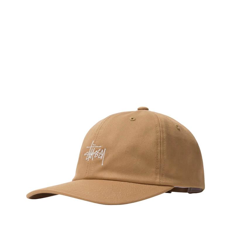 STUSSY Stock Low Pro Cap - Khaki