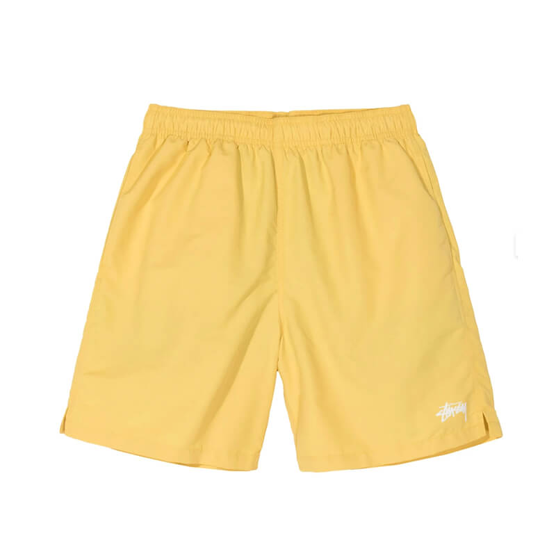 STUSSY Stock Water Short – Yellow