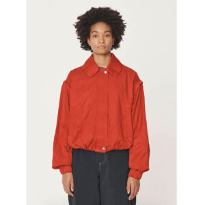YMC Heath Bonded Cotton Jacket – Red