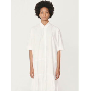 YMC Luna Cotton Dress – White