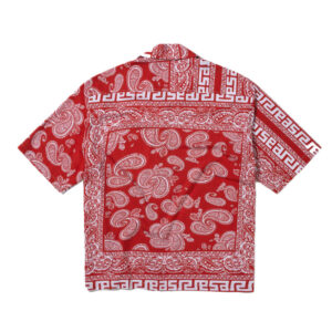 ARIES Camisa Bandana Print Hawaiian - Red