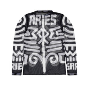 ARIES Top Bodypaint Mesh - Black