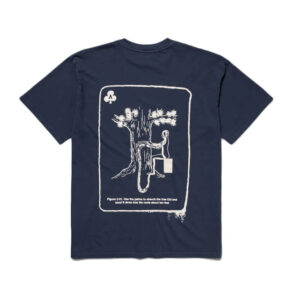 ARIES Camiseta SS Chi - Navy