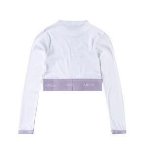 ARIES Top Rib Crop - Lilac