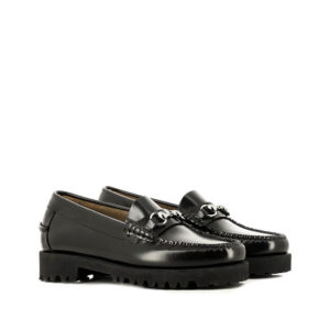 G.H. BASS Mocasines Weejuns Wmns 90s Lianna - Black Leather