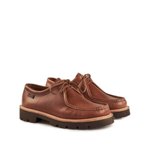 G.H. BASS Zapato Ranger Moc Wallace - Brown Leather