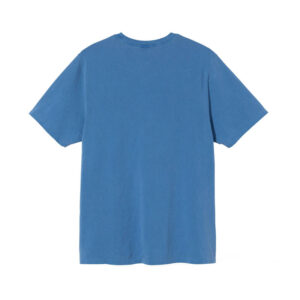 STUSSY Camiseta Surfman Pig Dyed – Blue
