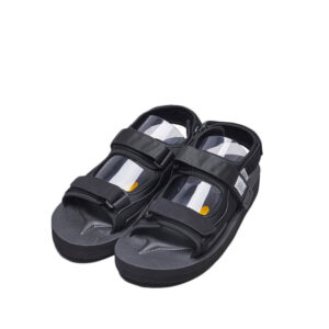 SUICOKE Was-V Sandals - Black