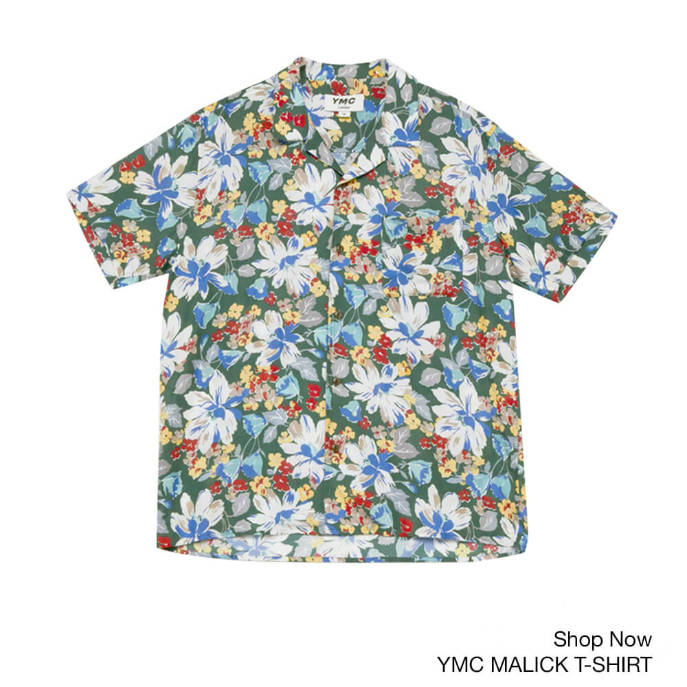 BANNER YMC Malick Cotton Silk Shirt – Floral Print