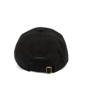 EDEN RECYCLED CAP BLACK