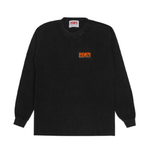 EDEN Power Corp. Eden LS Tee - Black/ Red