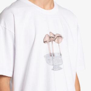 EDEN Power Corp. Camiseta Wretched Mushrooms - White