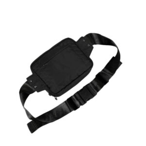 MAHARISHI Mini Travel Waist Bag - Black