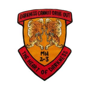 MAHARISHI Riverine Tiger Heart Rug - Multi