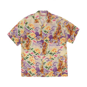 MAHARISHI Tiger Camp Summer Shirt - Lavender
