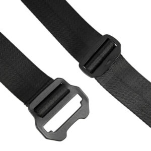 MAHARISHI Tilt Head Loop Belt - Black