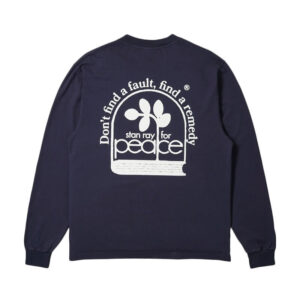 STAN RAY Remedy LS Tee - Navy